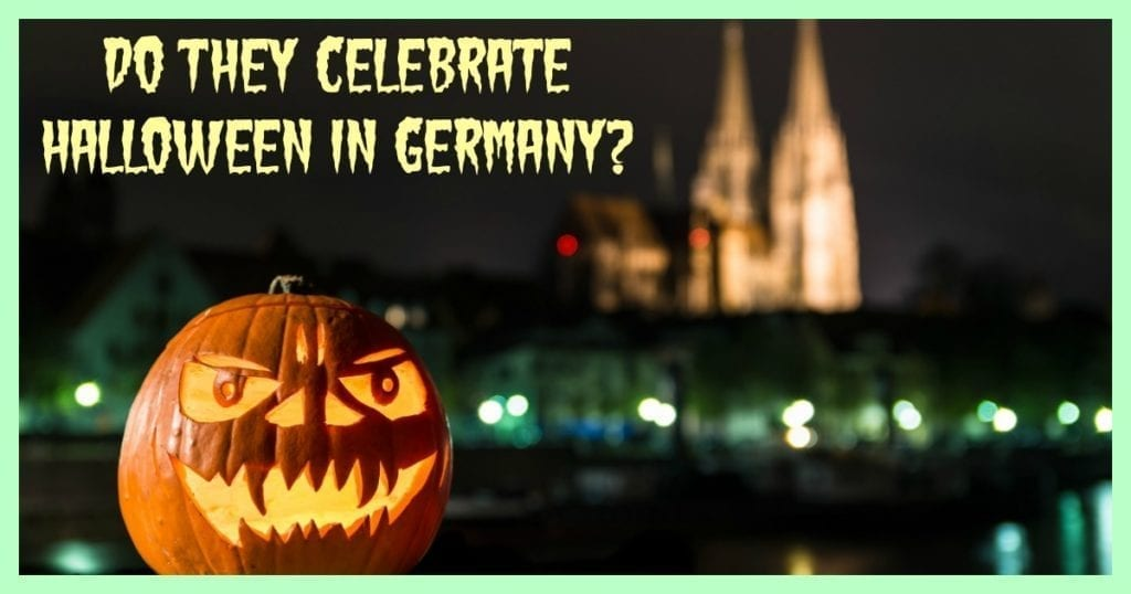 do they celebrate halloween in germany