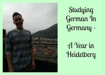 Studying German In Germany – A Year in Heidelberg