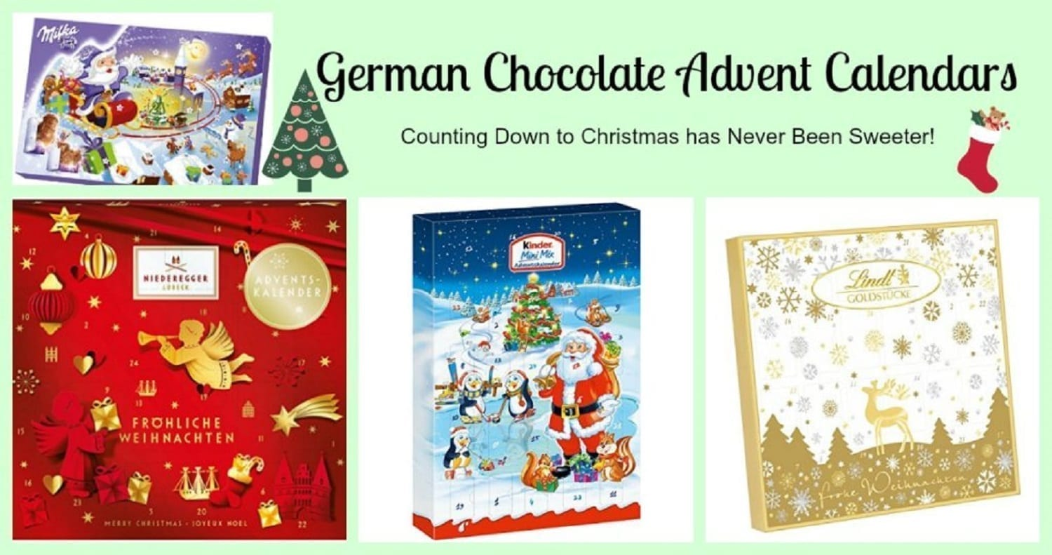 German Chocolate Advent Calendars- A Sweet Way to Wait for Christmas
