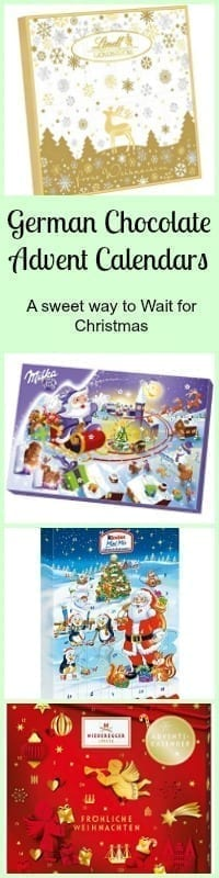 german chocolate advent calendars