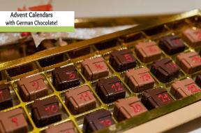 german chocolate advent calendars
