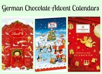 German Chocolate Advent Calendars- Counting Down to Christmas has Never Been Sweeter!