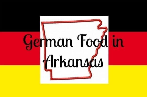 german food in arkansas