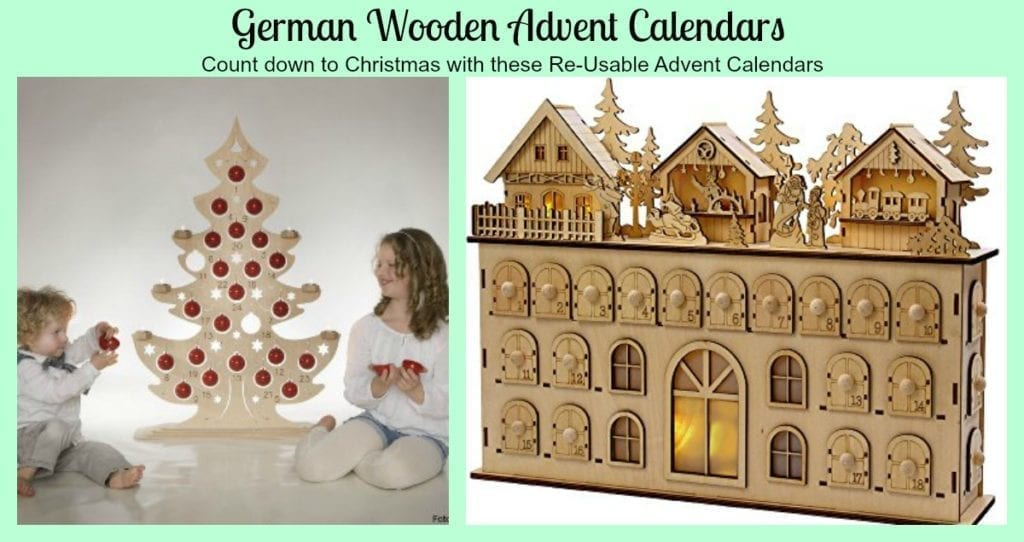 german wooden advent calendars