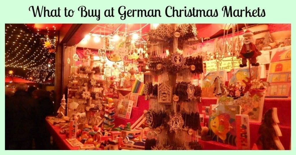 what to buy german christmas market