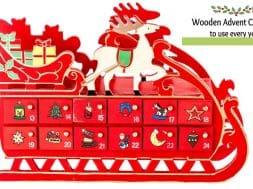 wooden advent calendars 1