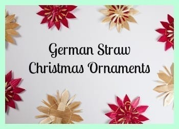 german straw christmas ornaments 2