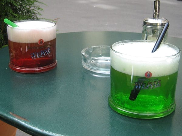 german mixed drinks