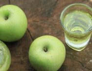 green apple juice soda