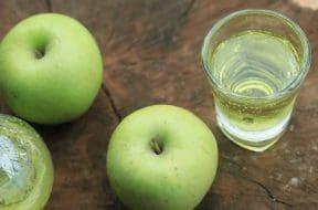 green apple juice soda