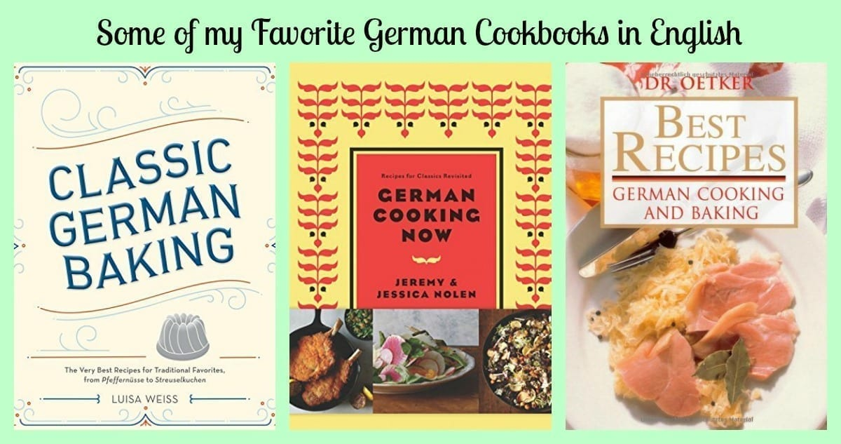 New German Cooking Recipes for Classics Revisited