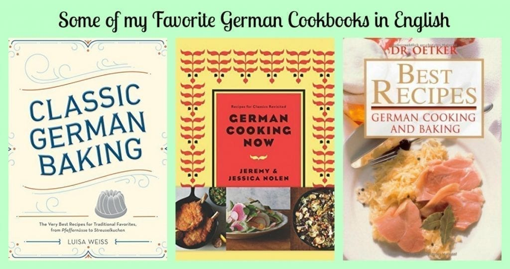 Some of my favorite german cookbooks in english forumfinder Image collections