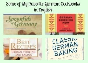 Some of my Favorite German Cookbooks in English