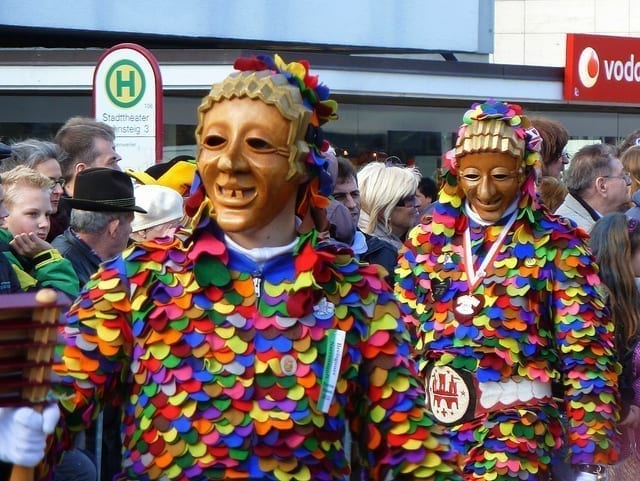 german fasching masks