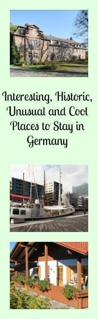 cool places to stay in germany