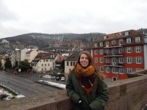 California girl in germany