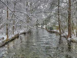 winter walk germany