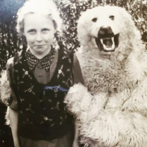polar bear suit photo germany