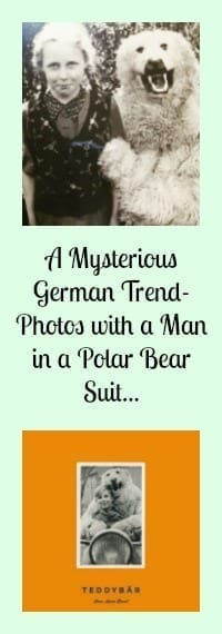 polar bear suit photo