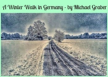 winter walk in germany