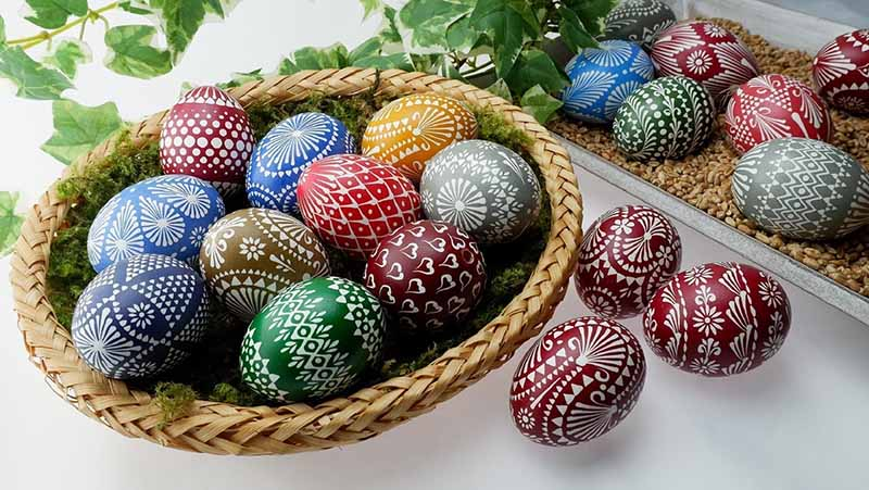 What are Sorbian Easter Eggs? How are they made & Who are the Sorbs?