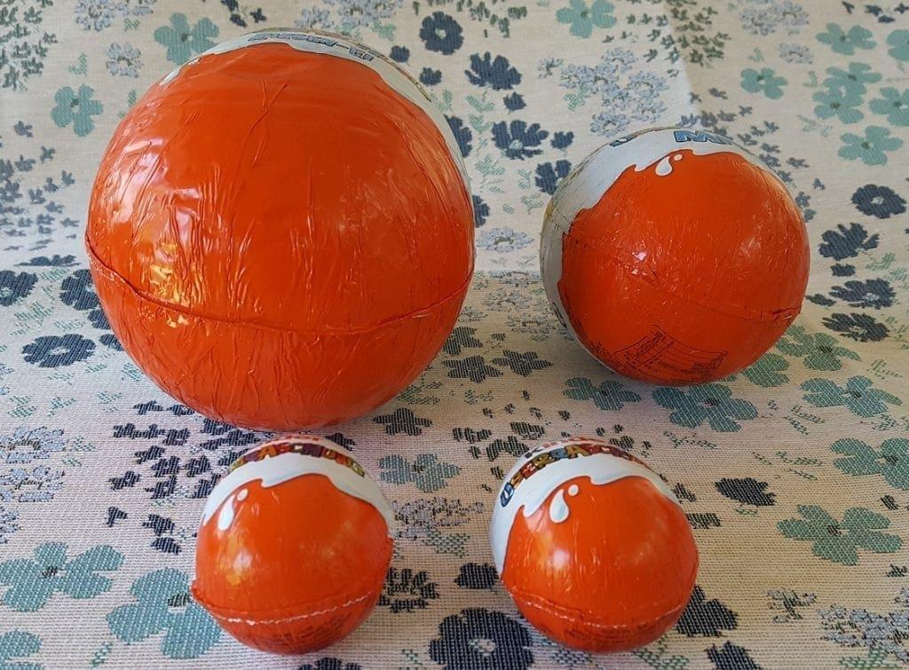 german kinder eggs