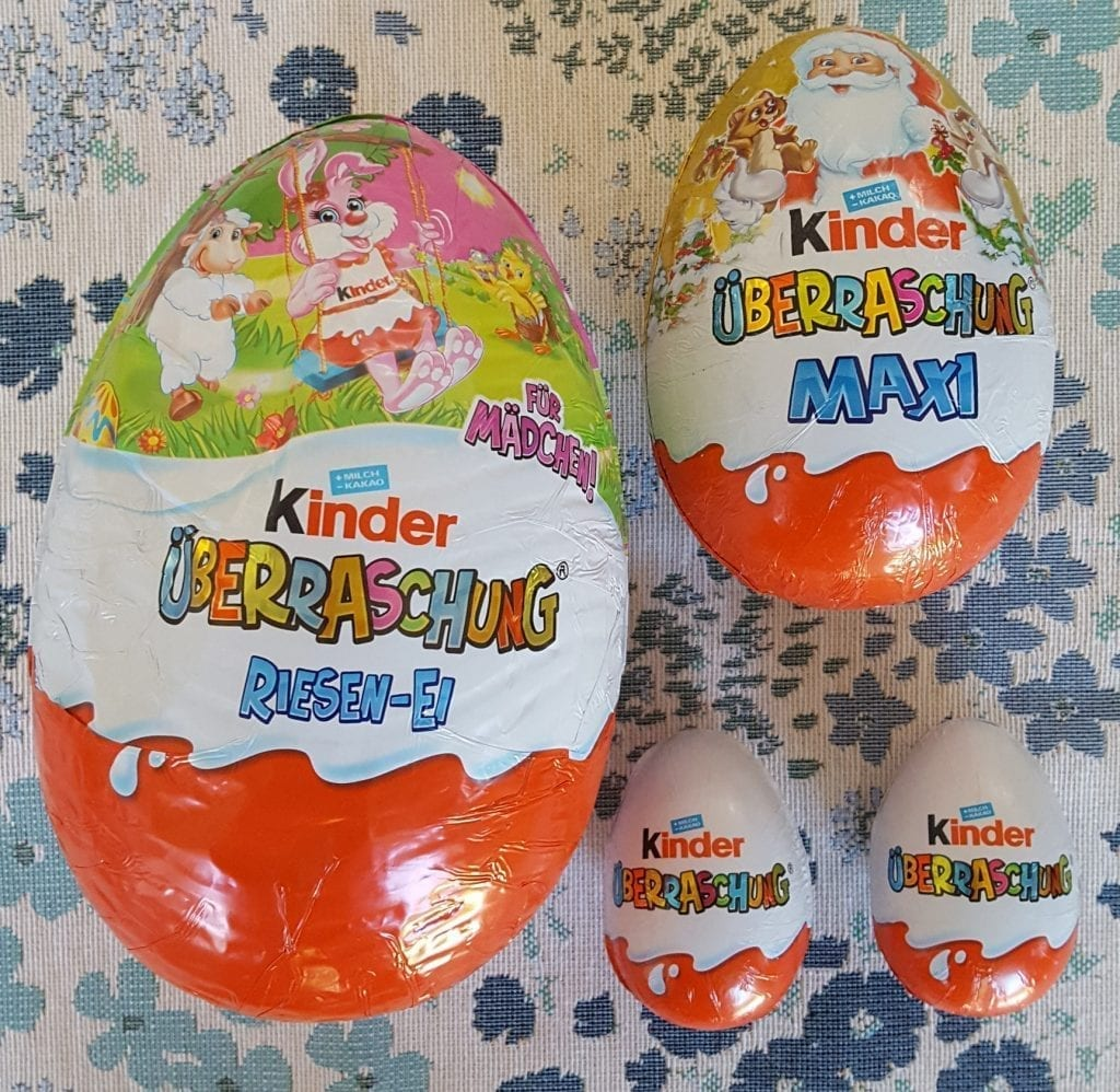 german kinder eggs