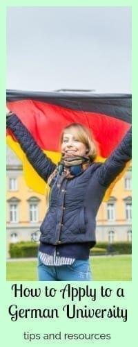 apply german university