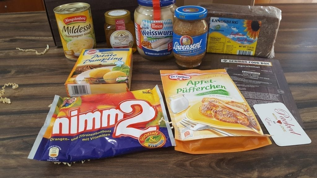 German Monthly Gift Box Subscriptions What Do You Really Get