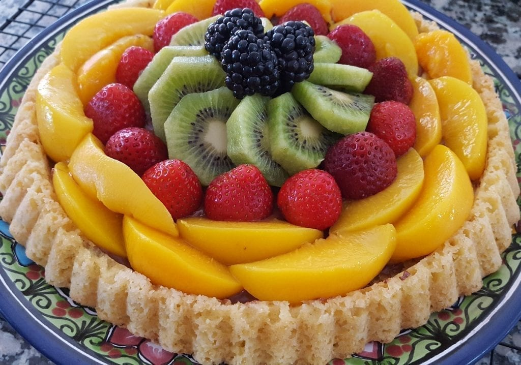 german fruit flan recipes