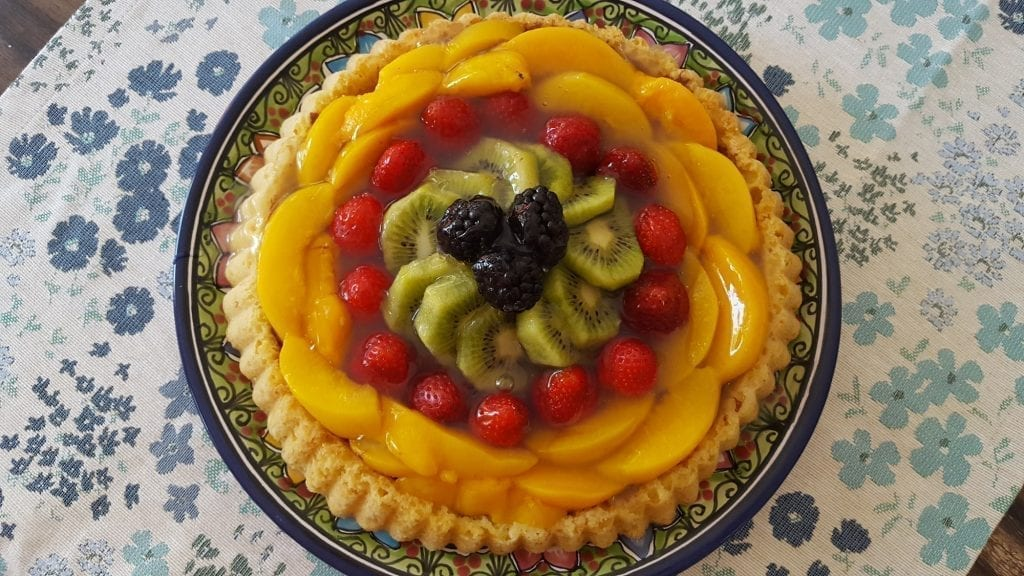 German Fruit Flan Recipes- Obsttorte a Few Ways