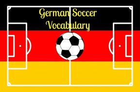 football field GERMAN background vector illustration