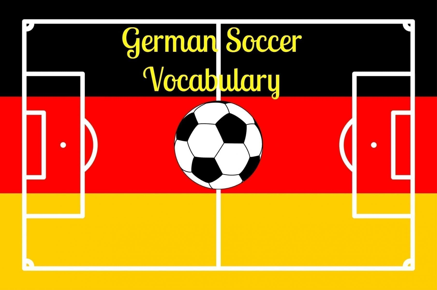 German Soccer Vocabulary! Learn to Speak Fußball!