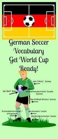 german soccer vocabulary