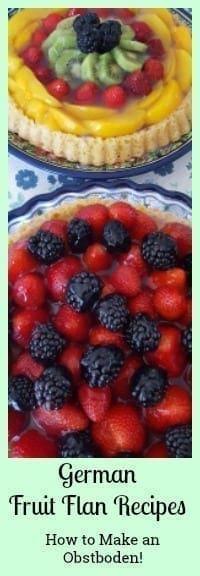 german fruit flan recipes
