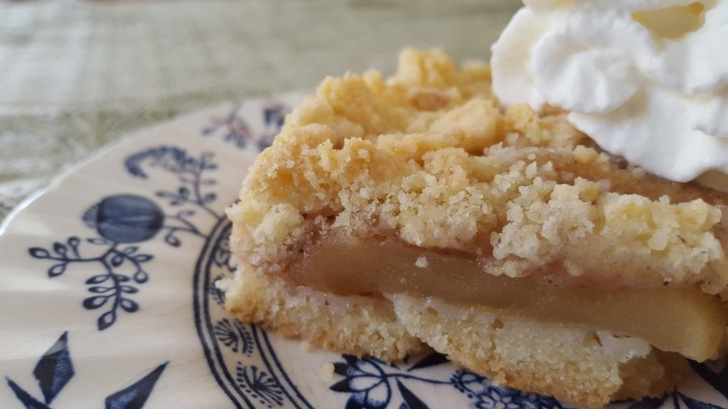 recipe for apple streusel cake