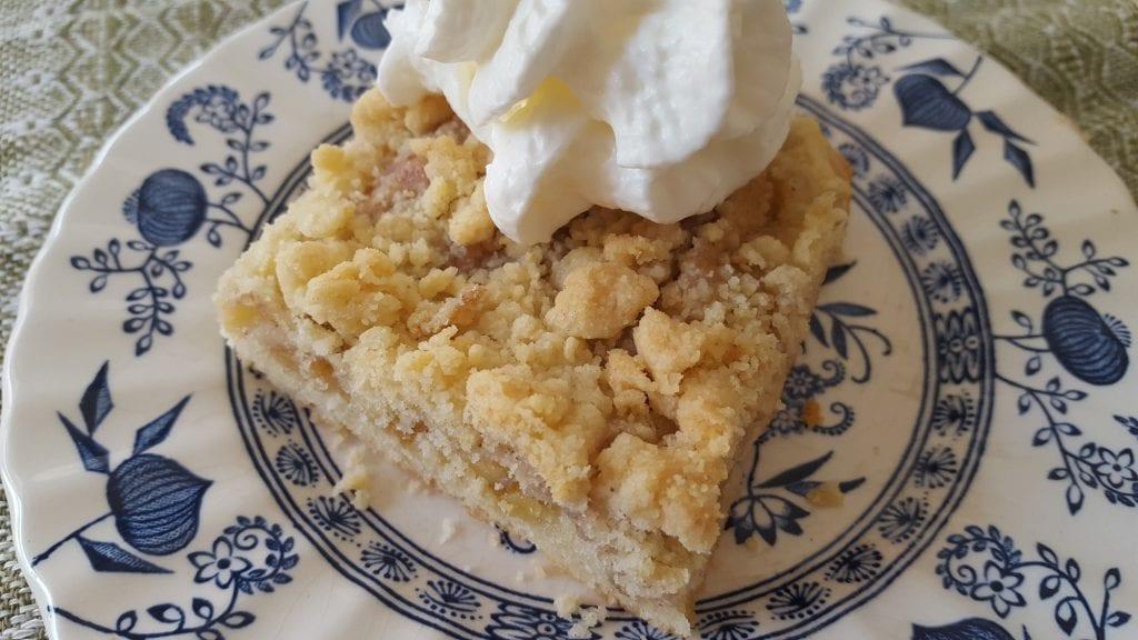 recipe for apple streusel cake