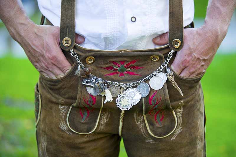 What is a Charivari? Learn more about these Lederhosen Chains