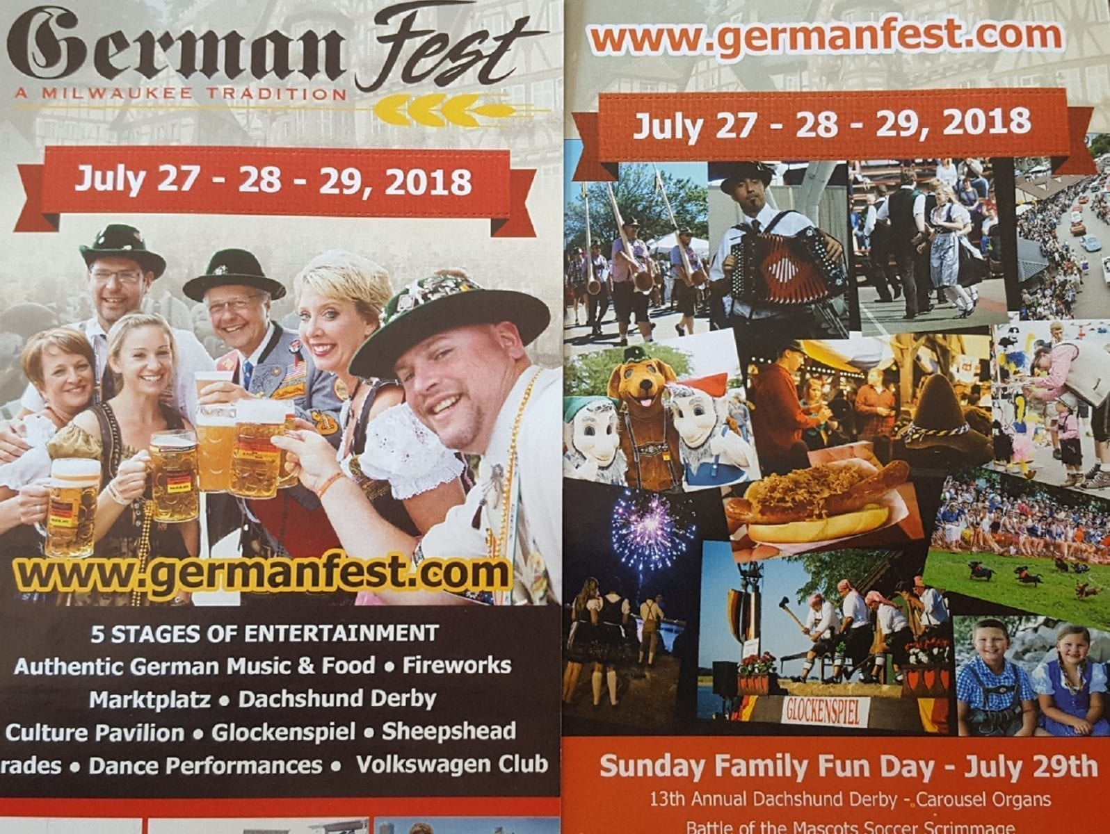 Made it Home From Germanfest Milwaukee 2018! Thank You & PHOTOS!