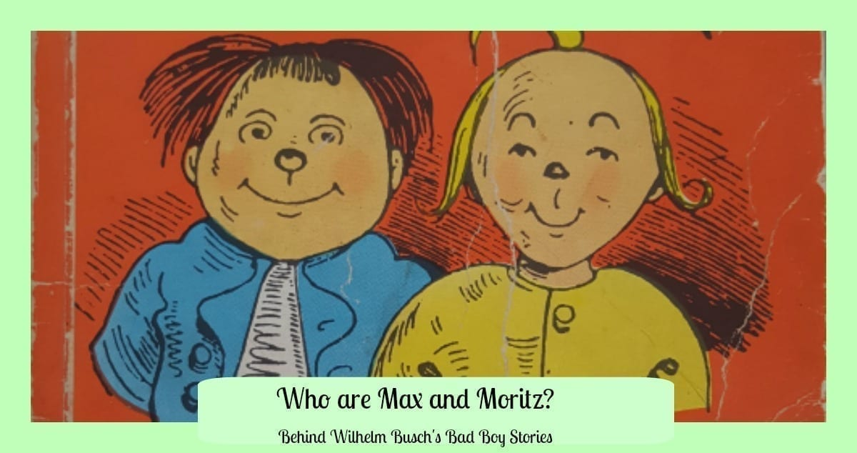 en soldes 53747 057ee Who are Max and Moritz? Behind Wilhelm Busch's Bad Boy Stories