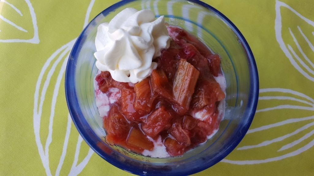rhubarb compote recipe easy