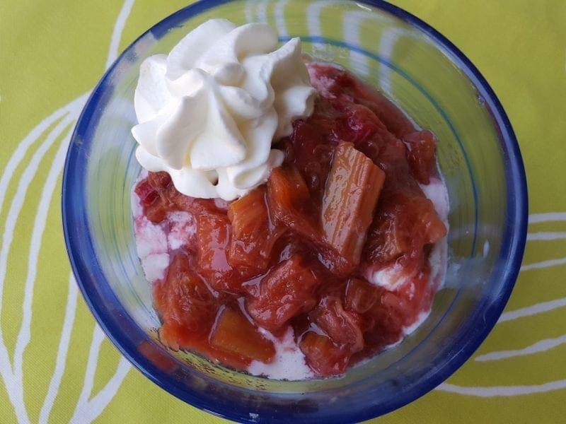 rhubarb compote recipe easy