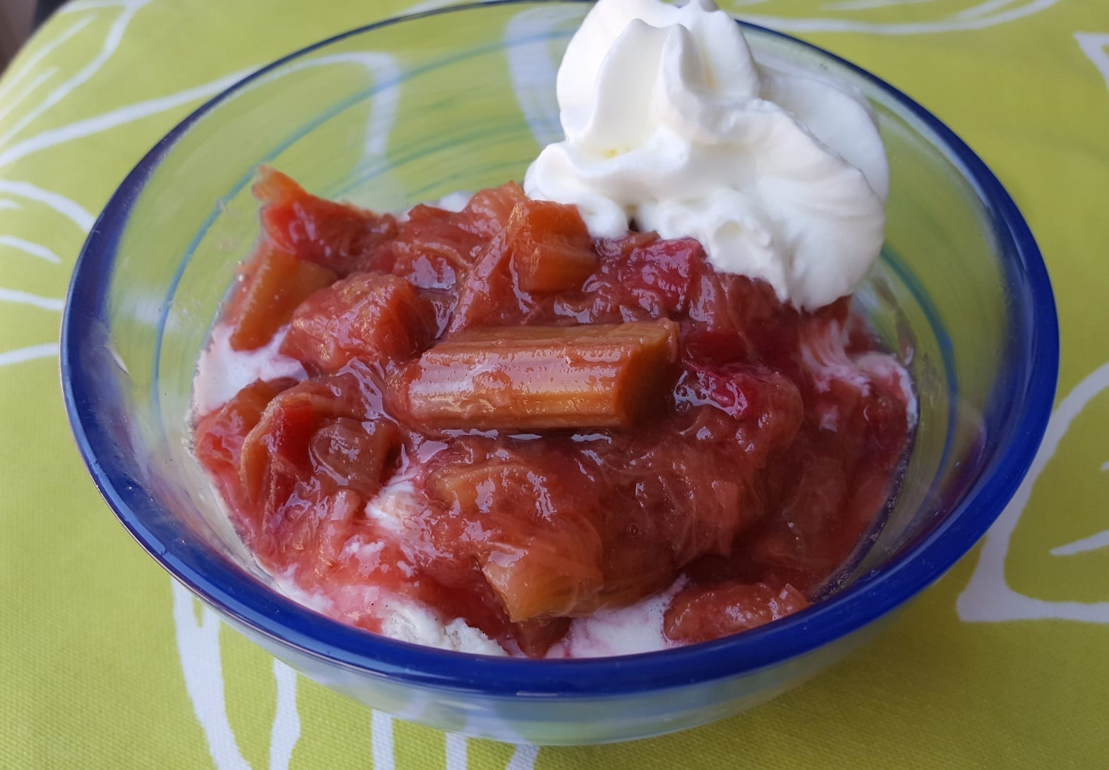 This German Rhubarb Compote Recipe is Easy to Make!