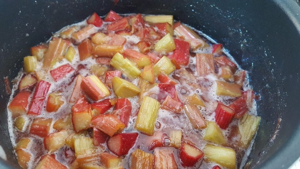 rhubarb compote recipe is easy