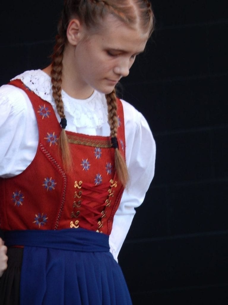 traditional german tracht