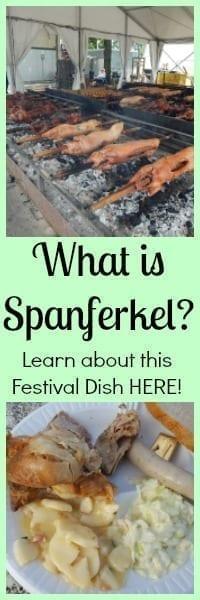 what is spanferkel