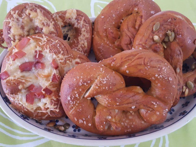 recipe soft german pretzels