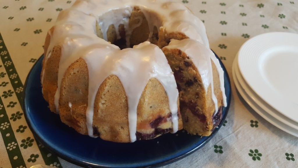 german sour cherry cake