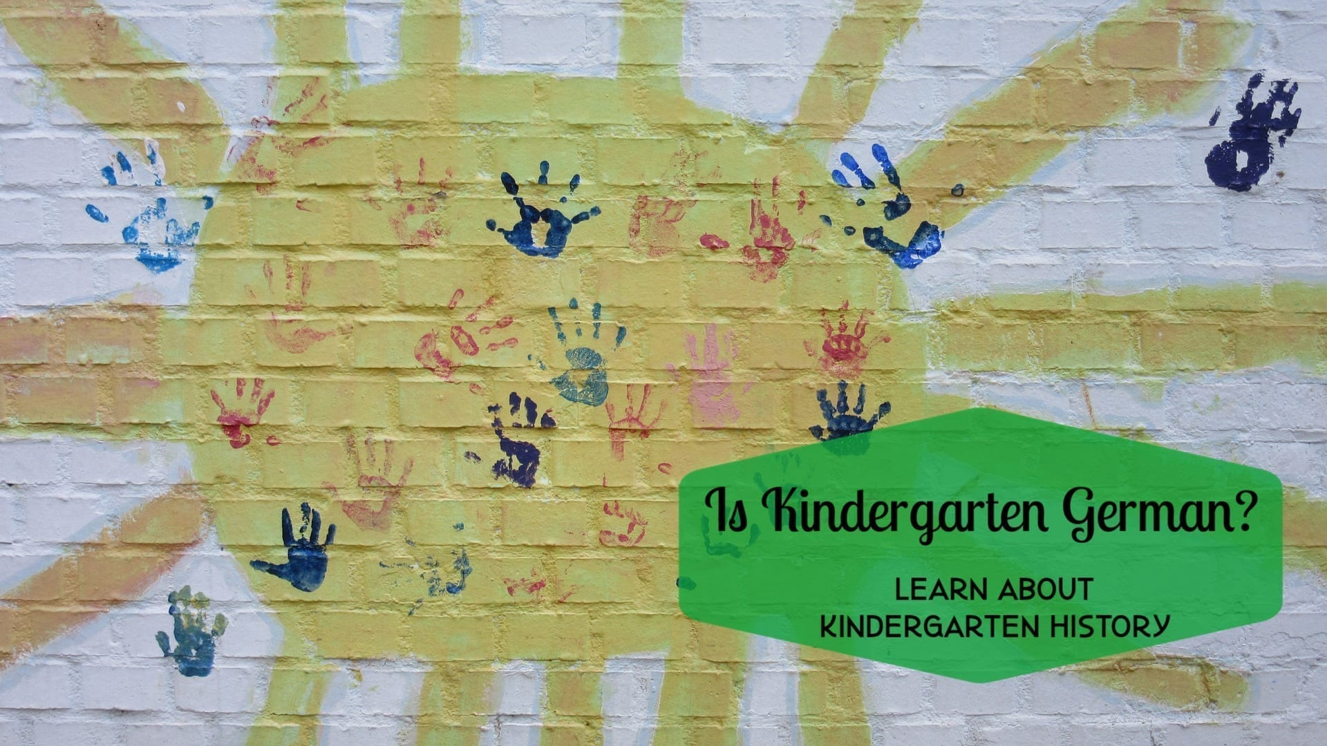 Is Kindergarten German? Learn all about Kindergarten History!
