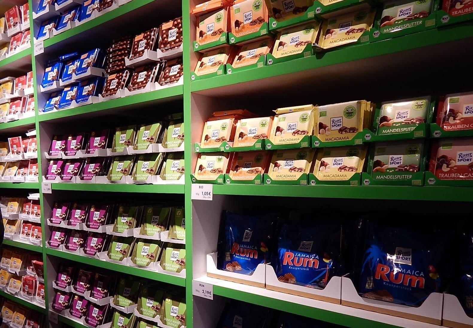 A Visit to Bunte Schokowelt! Land of Ritter Sport Chocolate Bars!